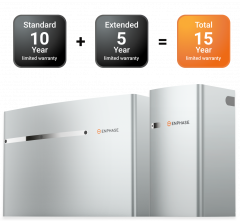 5-Year limited warranty extension for Encharge™