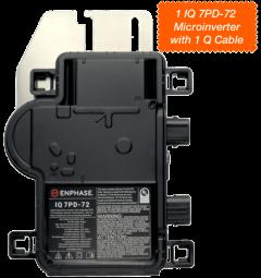 IQ 7 PD-72 Microinverter kit