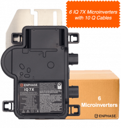 IQ 7X Microinverter multiple kit